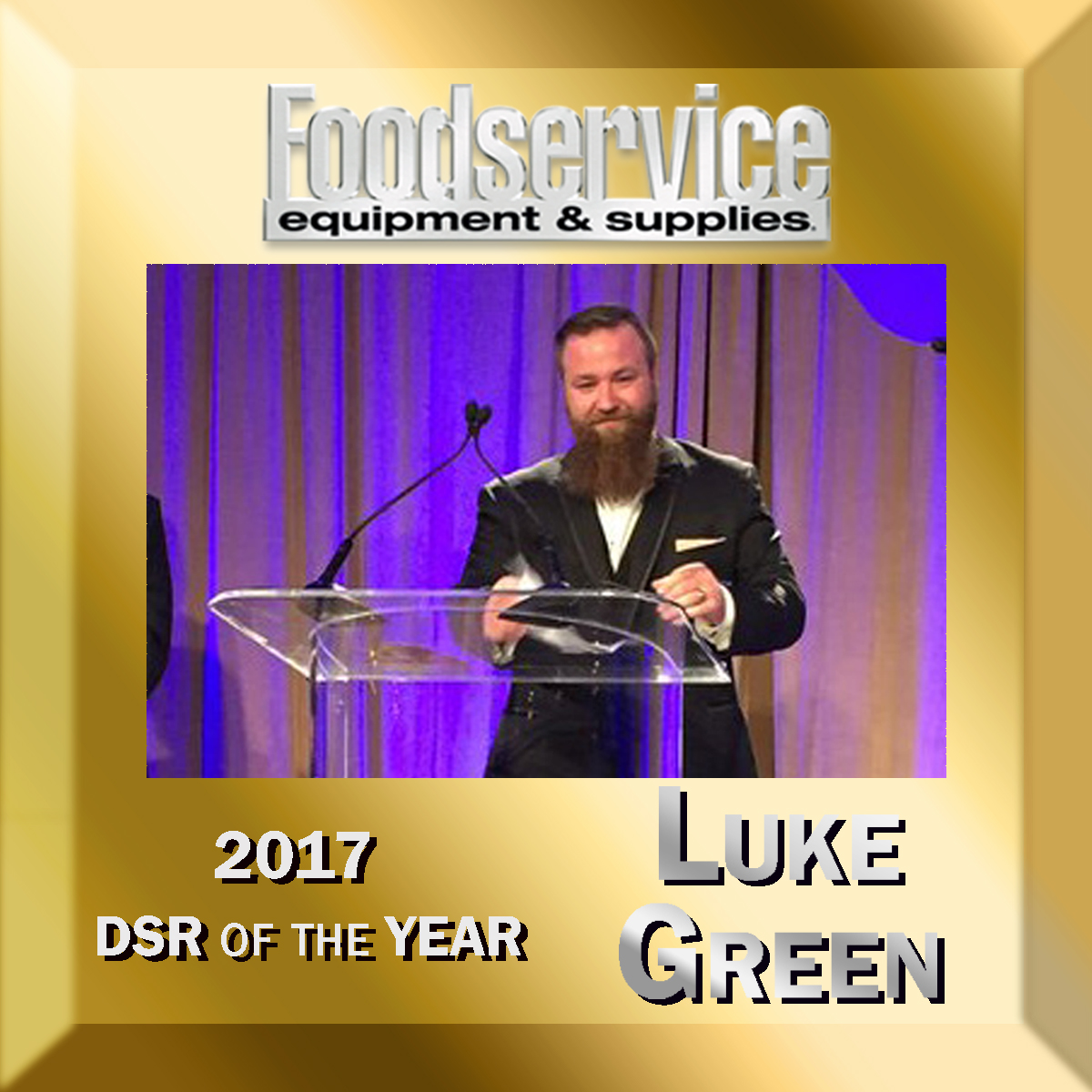 Luke Green DSR of the Year 2017