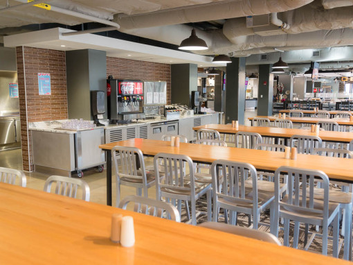 Iowa State University: Friley Hall Cafeteria