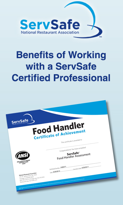 Benefits of Working with a ServSafe Certified Professional | Rapids ...